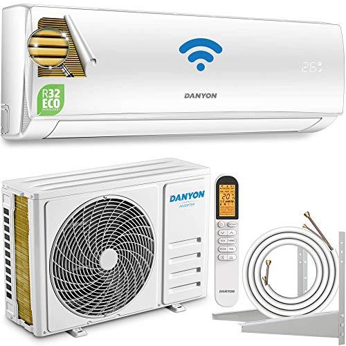 Danyon Premium Klimaanlage Splitgerät – XA61, für 55 qm, 12000 BTU, 3,4 kW, Titangold, Smart Home, W-LAN,...