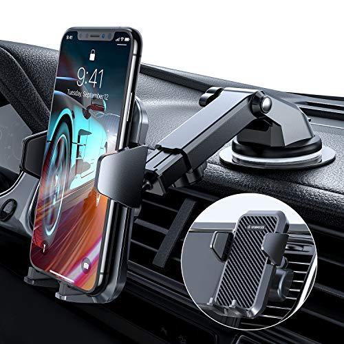 VANMASS Handyhalterung Auto 2021 upgrade Version Handyhalter fürs Auto 3 in 1 Kfz Handyhalterung Lüftung &...