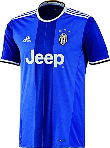 adidas Herren Trikot Juventus Auswärts Replica, Vivid Blue S14/Victory Blues07/White, M, AI6226