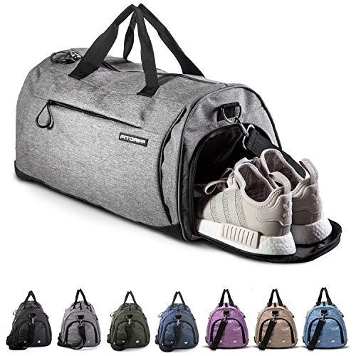 Fitgriff® Sporttasche Reisetasche mit Schuhfach & Nassfach - Männer & Frauen Fitnesstasche - Tasche für...