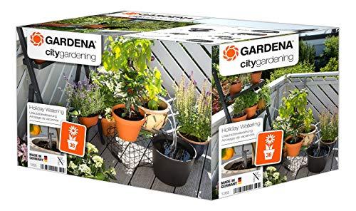 Gardena city gardening Urlaubsbewässerung: Pflanzenbewässerungs-Set für drinnen und draußen, individuelle...