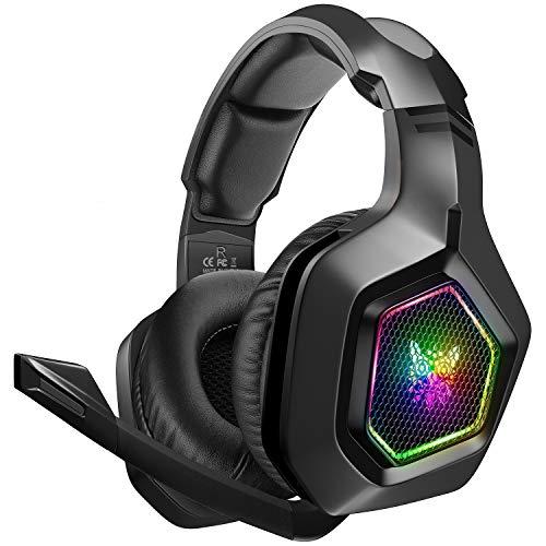 DIZA100 Gaming Headset für PS4 PC Xbox One, 3.5mm Surround Sound Kabelgebundenes ONIKUMA Gaming Kopfhörer...