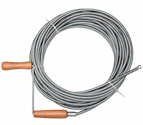 Rohrreinigungswelle Rohrreinigungsspirale Spirale Rohrreiniger 20m D. 9 mm