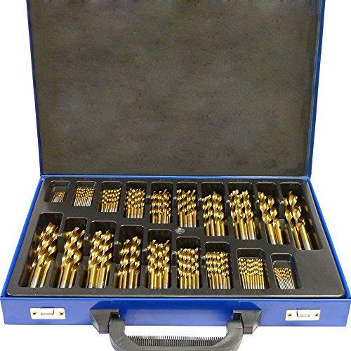 SAILUN® Metallbohrer Set 170-teilig Metallbohrersortiment HSS geschliffen, Split Point Handbohrmaschine...