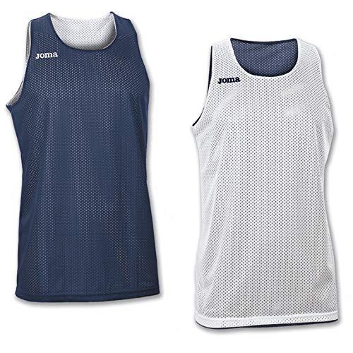Joma Erwachsene Basketball Trikot 100050.300, blau/Marino, 2XS