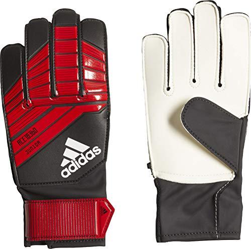 adidas Predator Junior Torwarthandschuhe, Black/Red/White, 6