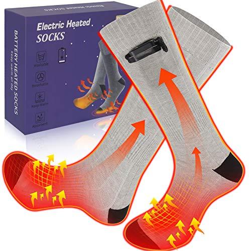 etship Beheizte Socken, Heizsocken Elektrisch, Warme Socken, Fußwärmer, Elektrische Wiederaufladbare...