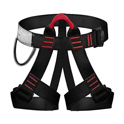 ENJOHOS Absturzsicherung Sicherheitsgurt Taille Klettergurt CE Zertifiziert für Bergsteigen Sportklettern...