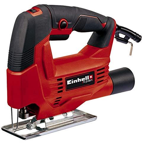 Einhell Stichsäge TC-JS 60/1 (400 W, max. 60 mm, Drehzahlelelektronik, werkzeugloser Sägeblattwechsel,...