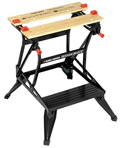 Black+Decker flexible Werkbank WM536 mit großer Arbeitsfläche – Höhenverstellbar und einfach handzuhaben...