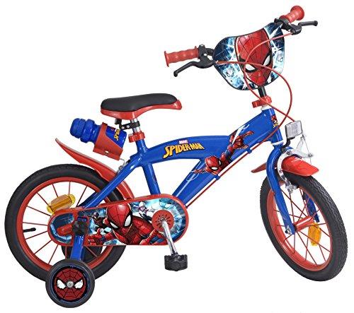 14 14'Zoll Kinderfahrrad Kinder Disney Jungen Fahrrad Rad BMX Spiderman Bike ES