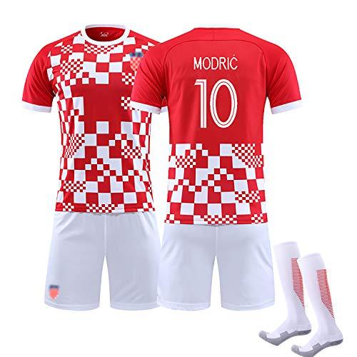 2020 Kinder Erwachsene Sommer Fußball Kroatien Trikot, RAKITIC 7 Modric10 MANDZUKIC 17 Fußballuniform,...