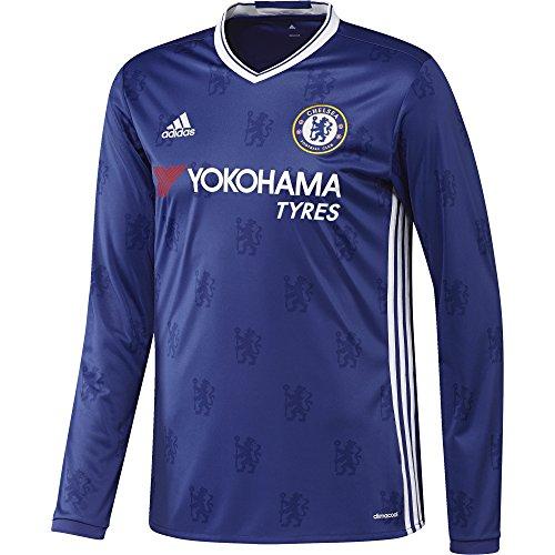 adidas Herren Fußball/Heim-Trikot FC Replica L, Chelsea Blue/White, L