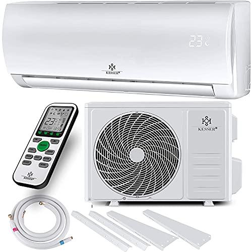 KESSER® Klimaanlage SET Split - mit WiFi/App Funktion Klimagerät - Kühlen A++/ Heizen A+ - 9000 BTU/h...