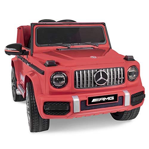 Daliya Kinder-Elektroauto Mercedes Benz G63 AMG Kinderauto Kinderfahrzeug 2,4GHz Bluetooth Fernbedienung und...