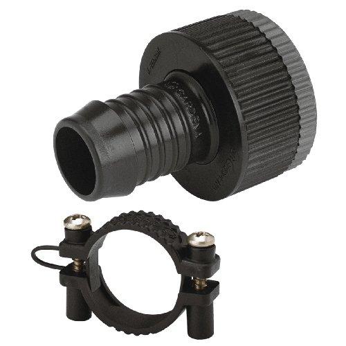 Gardena Sprinklersystem Adapter-Stück: Hahnanschluss-Stück, Zubehör für Gardena Pipeline und...
