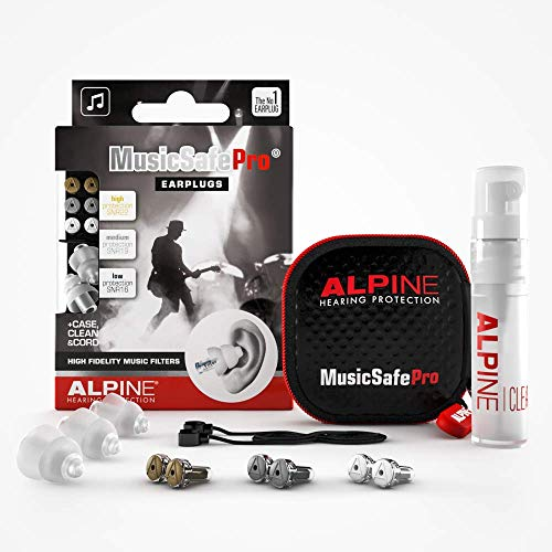 Alpine MusicSafe Pro Gehörschutz Ohrstöpsel für Musiker - Werte dein Musikerlebnis auf ohne Hörschäden zu...