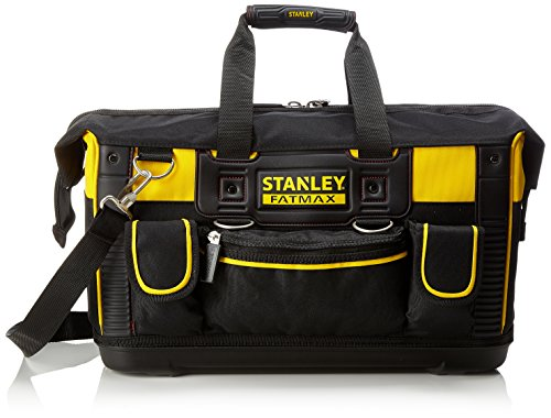 Stanley FatMax Werkzeugtasche (50 x 30 x 29 cm, schlagfester Boden, Aufbewahrungstaschen im Inneren, große...