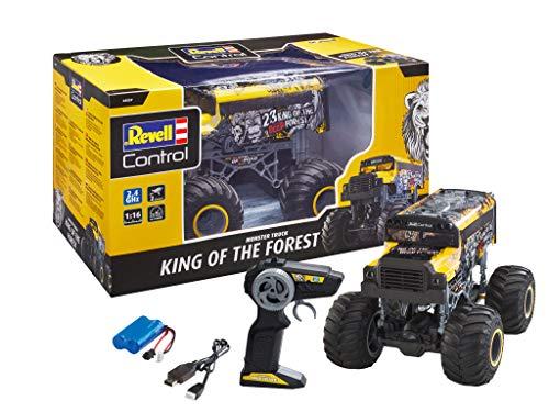 Revell Control 24557 RC Monster Truck King of The Forest, US Schulbus, 2.4 GHz, Rechts-/Linkshänder, bullige...