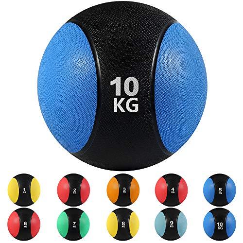 arteesol Medizinball mit Griff, 3/4/5/6/7/8/9/10/24KG Medizinball, für Jede Trainingsroutine, Muskelaufbau,...