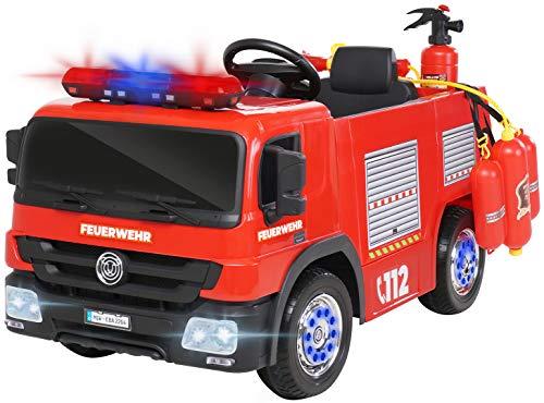 Actionbikes Motors Kinder Elektroauto Polizei / Feuerwehr SX1818 - 2 x 35 Watt Motoren - Fernbedienung -...