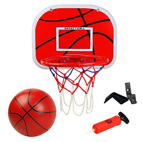 Basketballkorb fürs Zimmer Mini Basketball Kinder Sport Outdoor Indoor Basketballkorb Spielzeug mit Bälle...