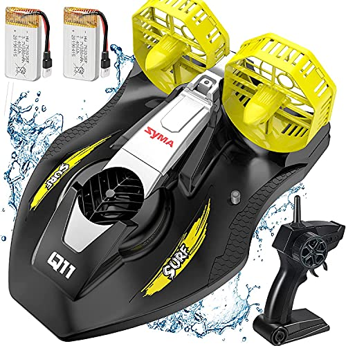 SYMA ferngesteuertes Boot RC Boote für Pool Seen Q11 Speed Boat Schiff mit 2.4GHz Fernbedienung Spielzeug...