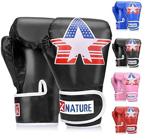 Boxhandschuhe für Training, Stanzen, Muay Thai, Sparring, Grappling, Kickboxen, Fokuspads, Boxsackhandschuhe,...