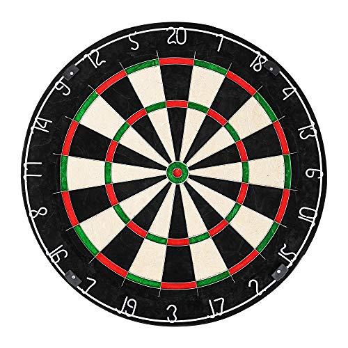Edaygo Dartscheibe für Steeldarts Dartboard, Durchmesser 45,5 cm, Dicke 3,5 cm, African Top Grade Sisal,...