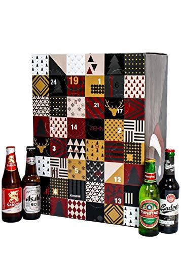 Adventskalender mit 24 Bieren aus aller Welt (24 x 0.33L) I besonderes Adventsgeschenk für Bierliebhaber...