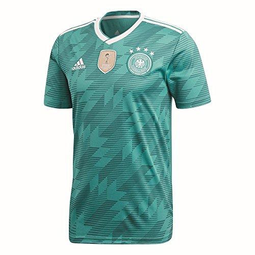 adidas Herren Dfb Away Jersey 2018 Trikot, grün (eqt green s16/White/Real teal s10), S