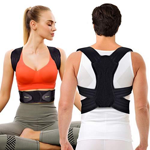 Mercase Geradehalter zur Haltungskorrektur, Haltungstrainer Rückenstabilisator für Herren Damen und Kinder...