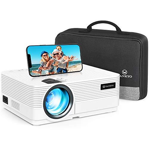 WiFi Beamer 5000 Lumen, VANKYO Leisure 470 Wireless Beamer, Support 1080P Full HD Heimkino Beamer WLAN,...