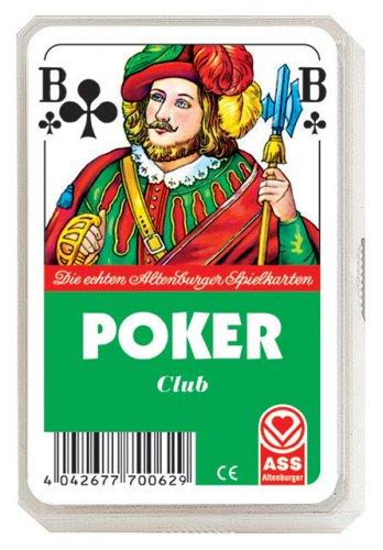 ASS Altenburger 22570062 - Poker - Französisches Bild, Kartenspiel
