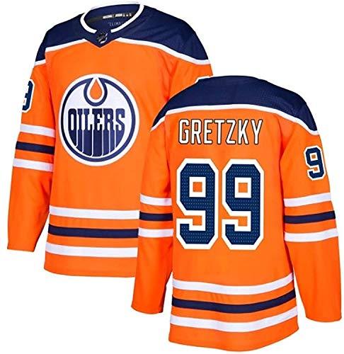 Beautyup Herren Hockey Trikot, TALBOT33 DRAISAITL29 GRETZKY99 LUCIC27 Stickerei Trikot, Erste Wahl für...