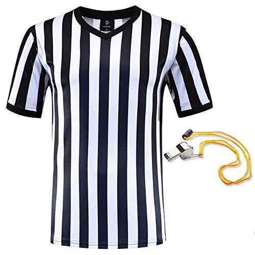 SHINESTONE Schiedsrichtershirt, Herren Basketball, Fußball, Schiedsrichter, Trikot, Kurzarm,...