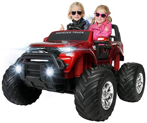 Actionbikes Motors Kinder Elektroauto Ford Ranger Monster - 4 x 45 Watt Motor - Touchscreen - Allrad -...