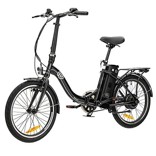 VecoCraft Nemesis Elektro Klapprad,E Bike 20 Zoll,E-Folding Bike, 36V 288WH ausziehbarer Baterrie mit Zellen...