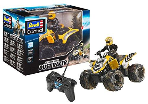 Revell 24641 New Dust Racer 8 RC Quadbike, ferngesteuertes Quad in Used-Look mit 2-Kanal 27 MHz Fernsteuerung...