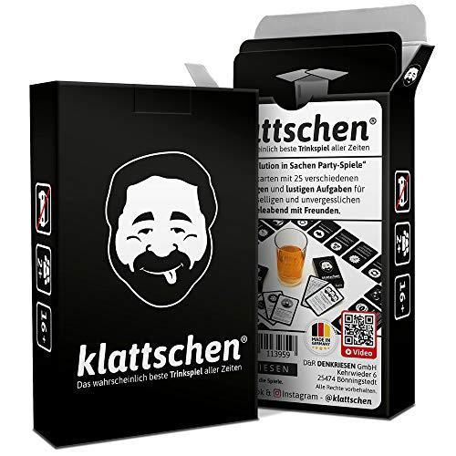 DENKRIESEN - klattschen - Trinkspiel - Das wahrscheinlich Beste Trinkspiel Aller Zeiten - Partyspiel -...
