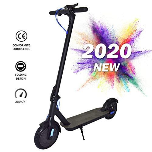 Nrkin E-Scooter, Elektro Scooter, Elektroroller Faltbar Aluminium E-Scooter, 8,5 Zoll Elektro Cityroller, e...