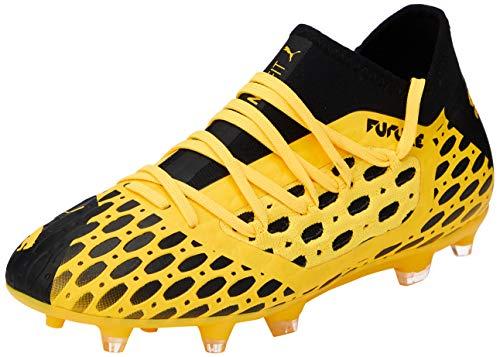 Puma Future 5.3 Netfit Fg/ag Jr, Unisex-Kinder Fußballschuhe, Gelb (Ultra Yellow-Puma Black 03), 34 EU