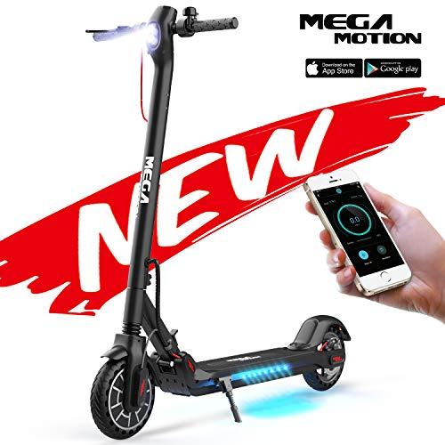 Mega Motion E-Scooter Klappbar Elektroroller Scooter Geschwindigkeit Erwachsene bis 30 Km/h 8.5 Zoll...