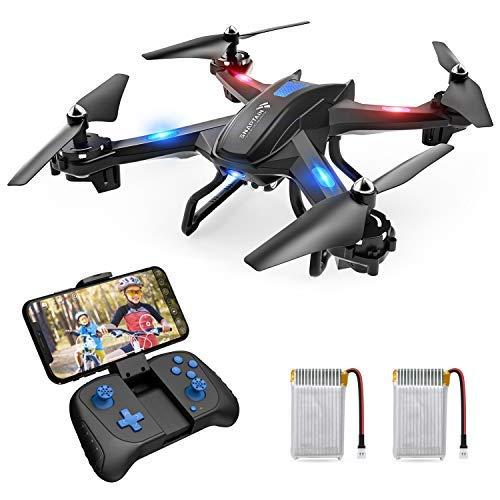 SNAPTAIN S5C Drohne mit Kamera HD 720P Live-Übertragung, WiFi RC Quadrocopter, Sprachsteuerung...