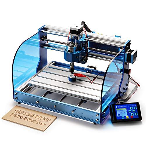 SainSmart Genmitsu CNC Fräs-/Graviermaschine 3018-PROVer Kit, mit Aluminium-Rahmen, GRBL-Steuerung,...