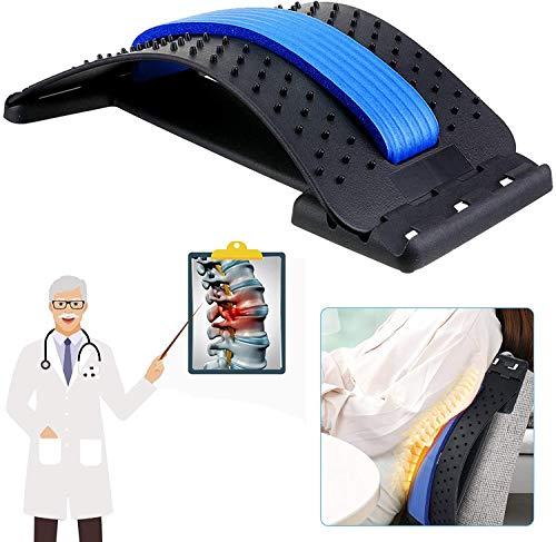 LIUMY Rückenstrecker, Home Rückenmassagegerät, Rückenmassage entspannt den Rücken und löst...