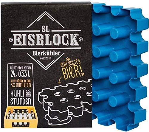 sl-Eisblock Bierkastenkühler 24x0,33l Made in Germany