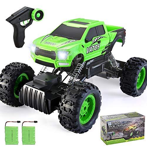 VATOS 1:12 RC Auto,Ferngesteuertes Auto Rock Crawler RC Autos Monster Truck Ferngesteuerter 4WD 2,4 Ghz Dual...