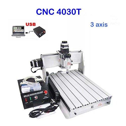 CNC Fräsmaschine 3040T 3 Achse Graviermaschine USB CNC Router 300mm x 400mm Engraver Milling FräSmaschine...