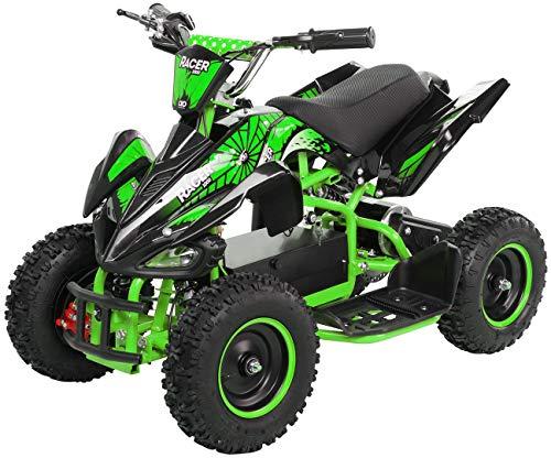 Actionbikes Motors Kinder Elektro Miniquad ATV Racer 1000 Watt 36 Volt - Scheibenbremsen - Safety Touch System...